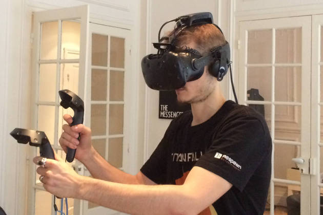 On a essayé le HTC Vive... sans fil !