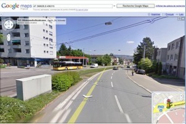 Google menace de fermer Street View en Suisse
