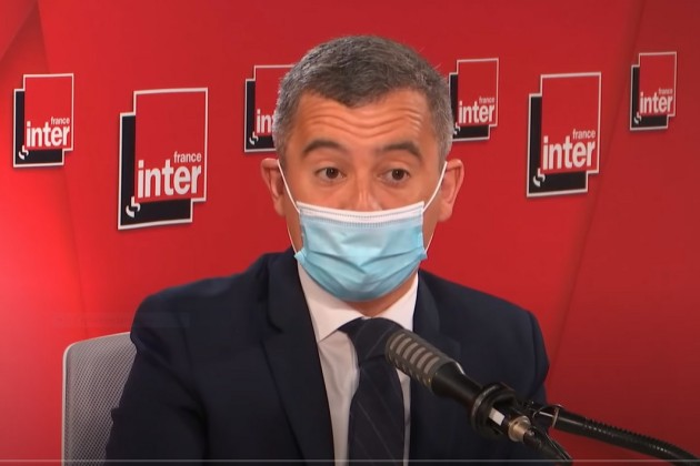 Gérald Darmanin, le 28 avril 2021