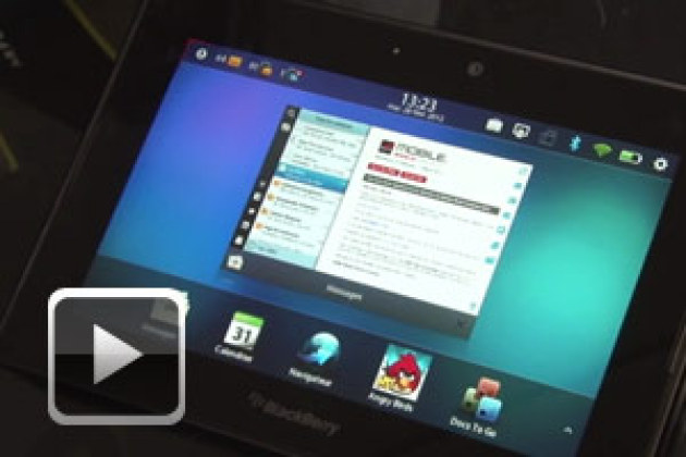 MWC 2012 : RIM BlackBerry Playbook OS 2.0