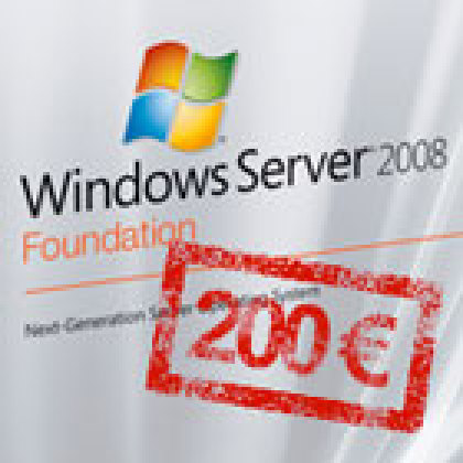 Bientôt une version ' low cost ' de Windows Server 2008