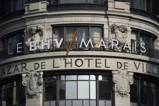 Le BHV à Paris.