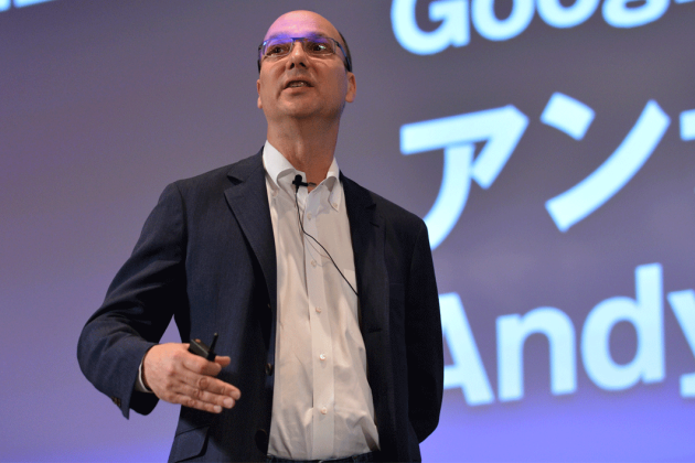 Andy Rubin, Google senior vice president