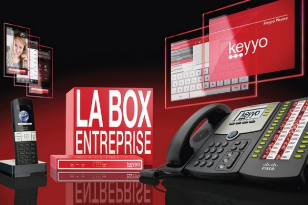 Keyyo : Une box Internet alternative, dédiée aux professionnels