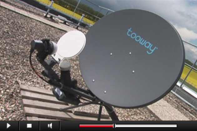 Internet par satellite : explications en images