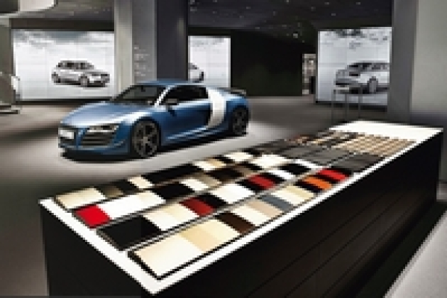 Audi invente le showroom 100 % digital