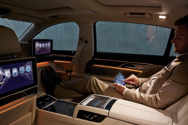 BMW série 7, la nouvelle berline de luxe à la pointe de la high-tech