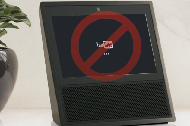 Google s'attaque à Amazon en retirant YouTube des enceintes Echo Show