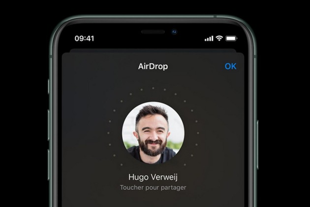 L'iPhone 11 booste les transferts AirDrop grâce à la technologie Ultrawide Band