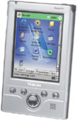 Le Pocket PC e310 concurrence les PDA de type Palm