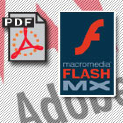 En achetant Macromedia, Adobe unit PDF et Flash