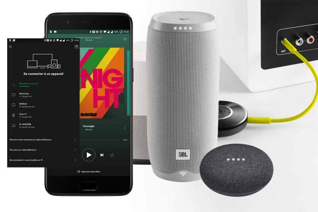 comment passer l 39 audio multiroom avec google assistant et chromecast. Black Bedroom Furniture Sets. Home Design Ideas