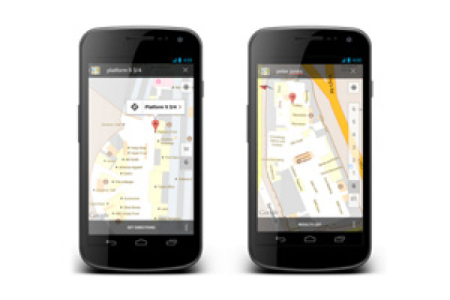 Google Maps Indoor arrive en Europe