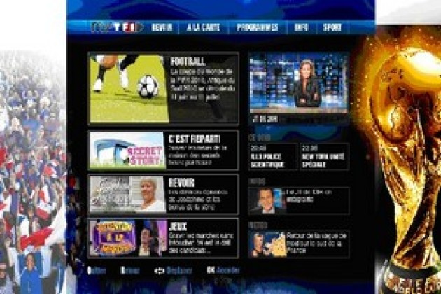 TV de rattrapage : MyTF1 se branche sur la Livebox d'Orange