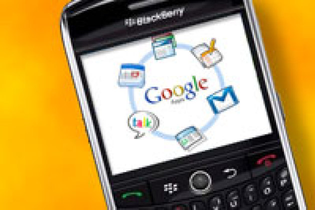 Google synchronise ses applications avec les Blackberry