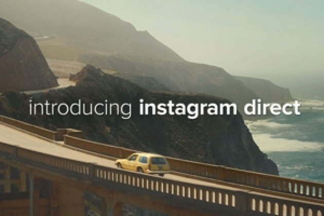 Instagram Direct, pour envoyer des photos privées et concurrencer Snapchat