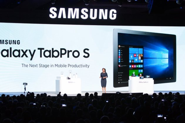 CES 2016 : Samsung Galaxy TabPro S, le PC hybride sous Windows 10