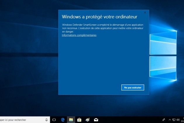 Windows 10 : comment autoriser l'exécution de programmes bloqués par Windows Defender