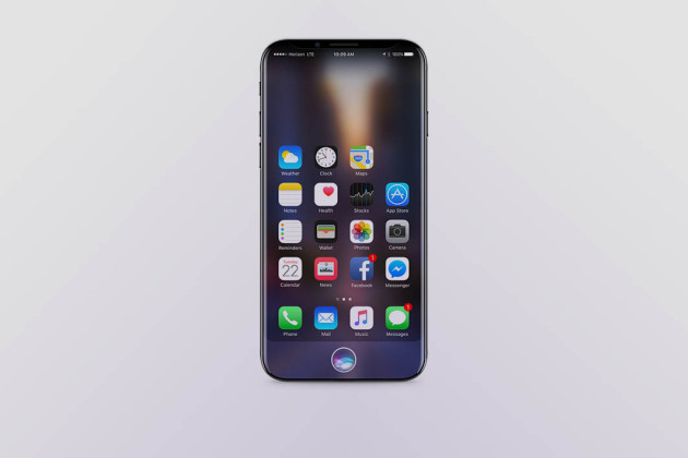 Rendu 3D de l'iPhone 8