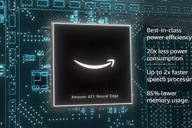 Amazon AZ1 Neural Edge, la puce qui pourrait rendre Alexa (plus) autonome