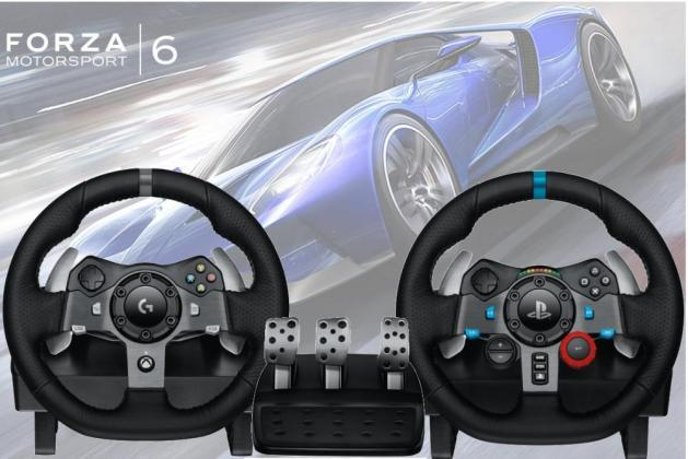 e3 2015 logitech g920 et g29 des volants pour les fans de simulation auto. Black Bedroom Furniture Sets. Home Design Ideas
