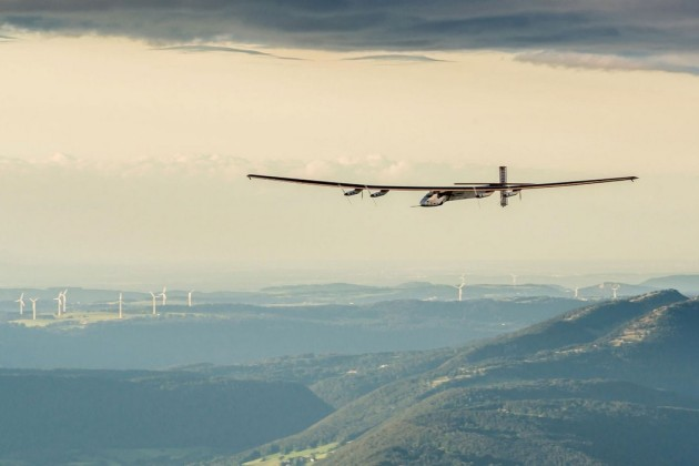L'avion solaire Solar Impulse 2.