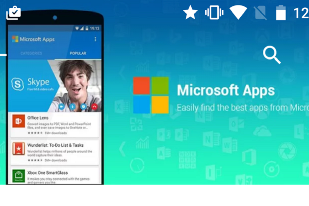 Microsoft Apps : l'application qui crée un store dans le Google Play Store