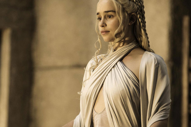 Emilia Clarke dans Game of Thrones