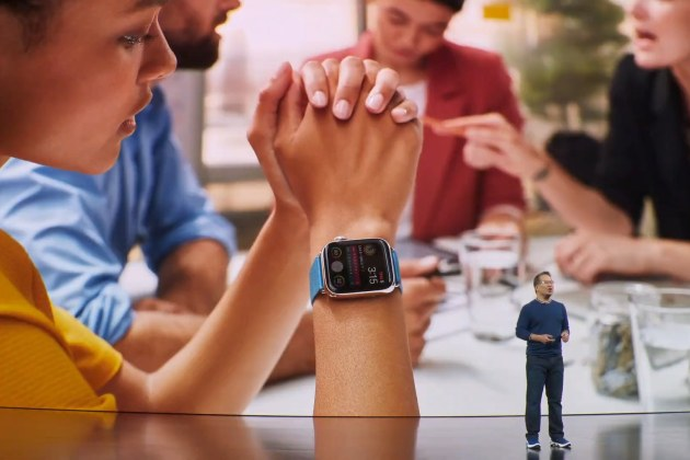 L'Apple Watch Series 5 passe à l'écran « always on »