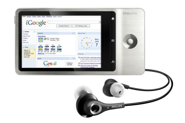 Philips GoGear Connect 32 Go