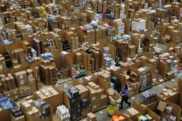 entrepôt, cadeaux high-tech, Amazon, black friday