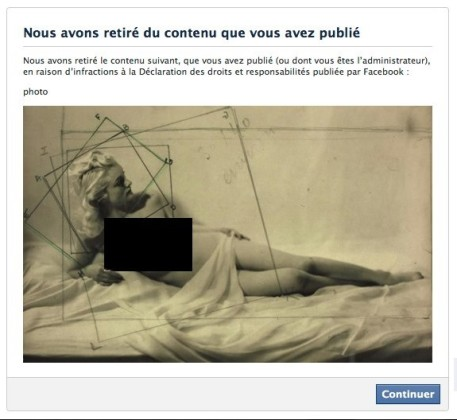 Facebook censure la Journée du nu