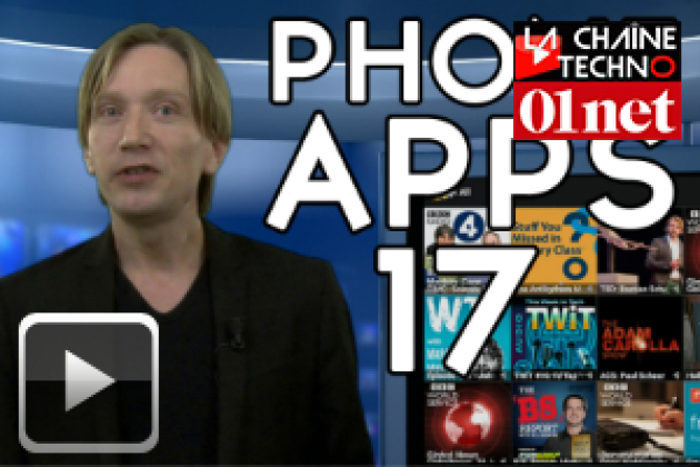 Phone Apps 17 : ThrowBack, Field Trip, Skype, Podcast addict...