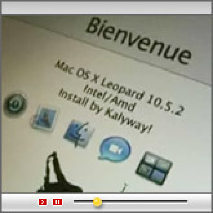 On a osé installer Mac OS X sur un ' vulgaire ' PC !