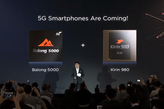 Le modem Balong 5000 de Huawei supporte plus de fréquences 5G que le Snapragon X50 de Qualcomm.