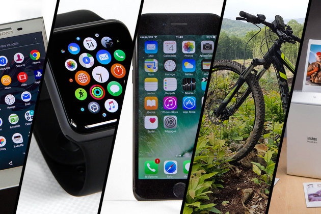 Apple Watch Series 2, iPhone 7, Sony X Compact... le top 5 des tests