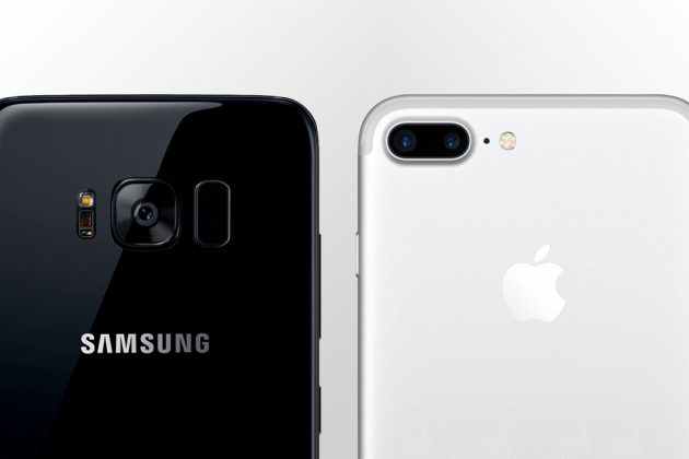 Samsung Galaxy S8 contre Apple iPhone 7 Plus : quel est le maître de la photo ?