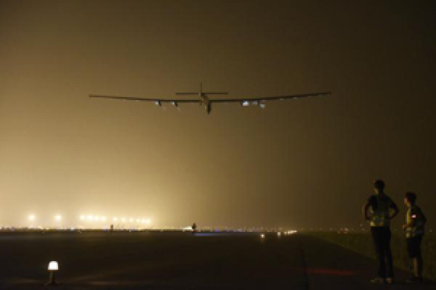 L'avion Solar Impulse face à son plus gros défi : traverser le Pacifique