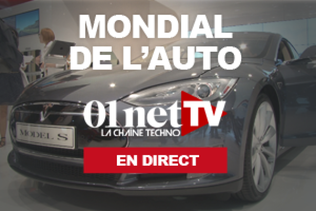 Mondial de l'auto : 01netTV en direct 1/3 (Grand Talk) (vidéo)