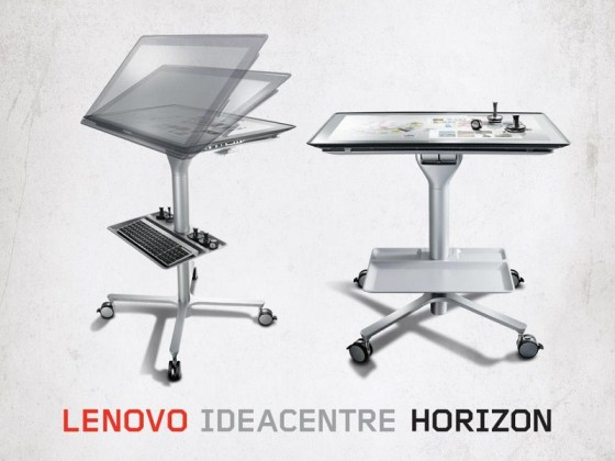 CES 2013 : Lenovo Horizon, du PC à la table de jeu virtuelle