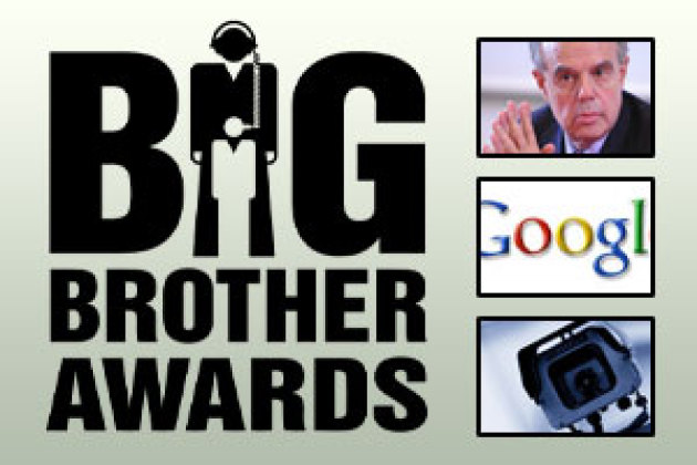 Facebook, F. Mitterrand, TMG… tous nominés aux Big Brother Awards