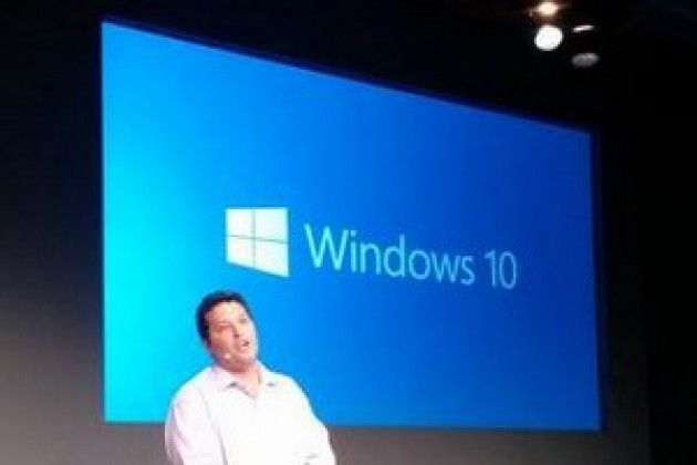 Windows 9 s'appelle en fait... Windows 10