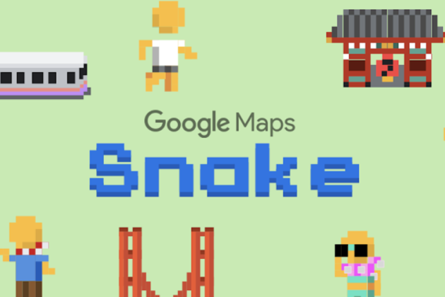 Pour le 1er avril, Google Maps se transforme en Snake