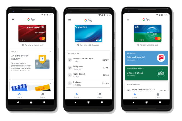 Android Pay se mue en Google Pay pour tenter de rattraper Apple