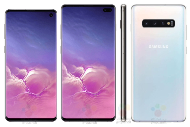 Images officielles du Galaxy S10 de Samsung.