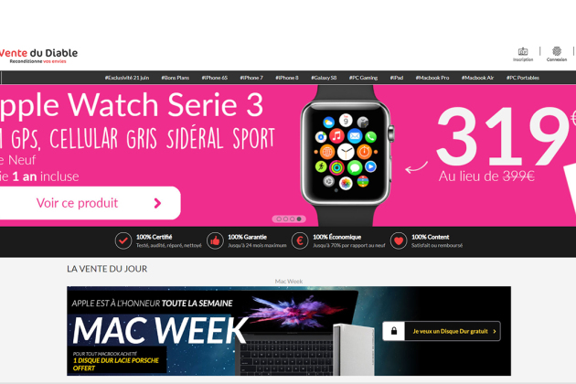Apple Week Vente du Diable