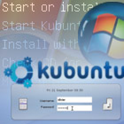 Installez Linux Kubuntu dans Windows XP ou Vista