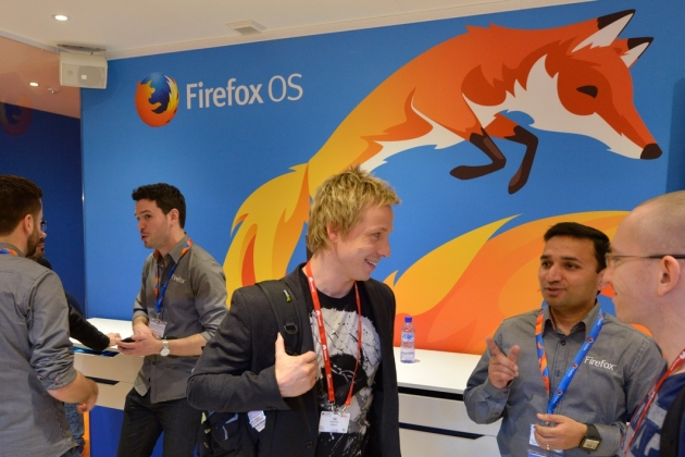Stand Firefox OS au Mobile World Congress 2014