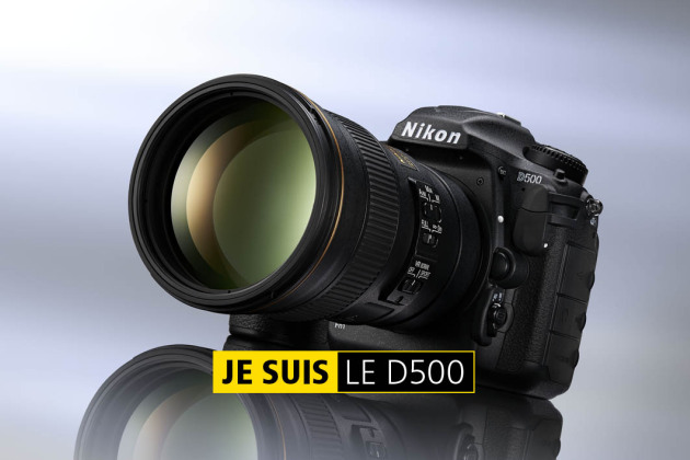 Nikon D500 : le reflex de combat qu'on n'attendait plus!