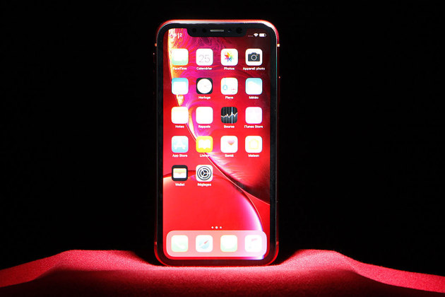 L'iPhone XR d'Apple.